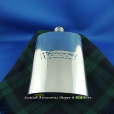 Hip Flask  Whisky Logo